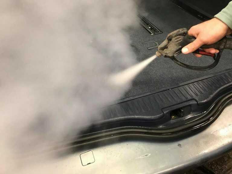 Forró gőz ahogyan tisztít